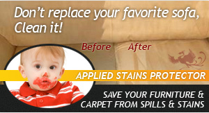 carpet and upholstery stain removal